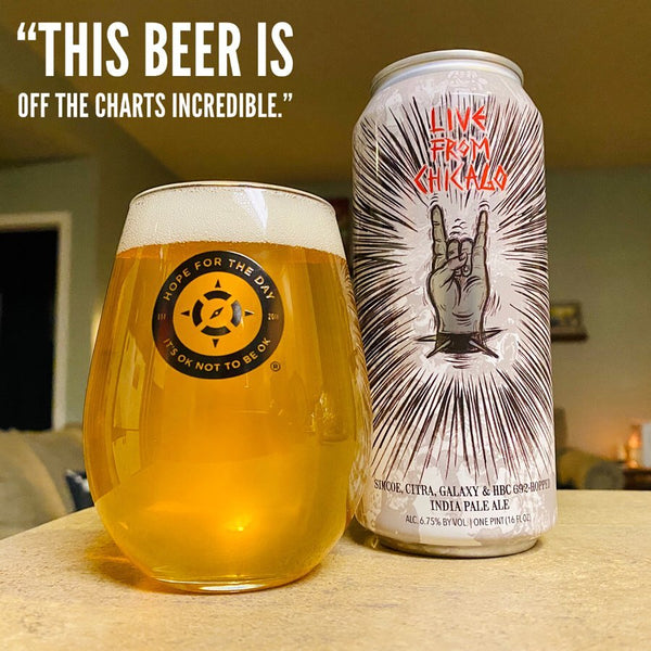 Hop Butcher & Crushed By Giants - Live From Chicago IPA
