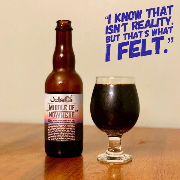 Jackie O's - Middle Of Nowhere Imperial Oatmeal Stout