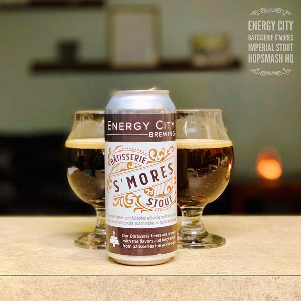 Energy City - Bâtisserie S'mores Imperial Stout