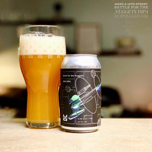 Marz & 18th Street - Battle For The Nuggets Double IPA