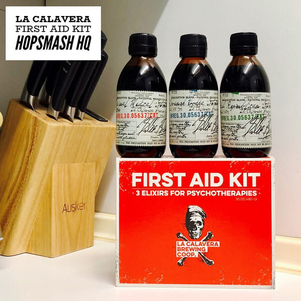 La Calavera - First Aid Kit: 3 Elixirs For Psychotherapies