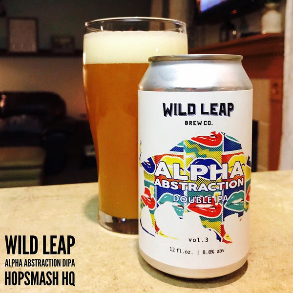 Wild Leap - Alpha Abstraction Vol. 3 Double IPA