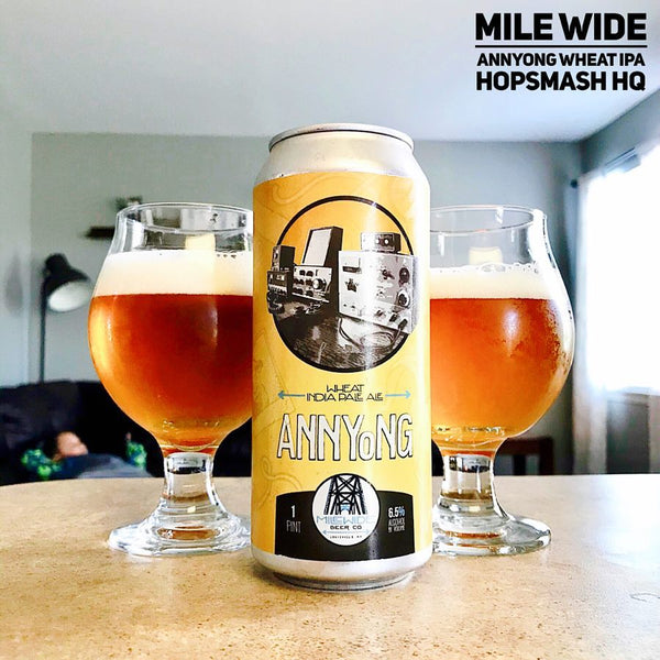 Mile Wide - Annyong Wheat IPA
