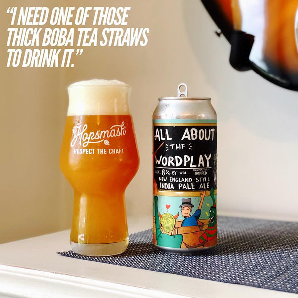 Abomination - All About The Wordplay Double IPA