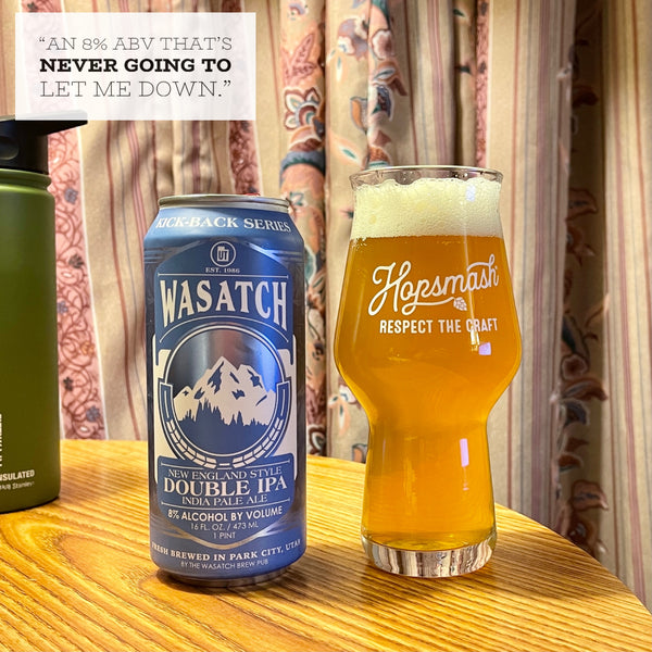 Wasatch - New England Style Double IPA