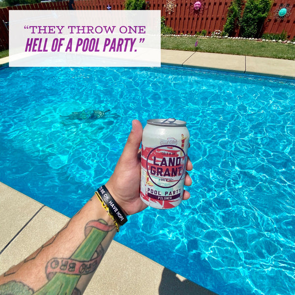 Land-Grant - Pool Party Pilsner