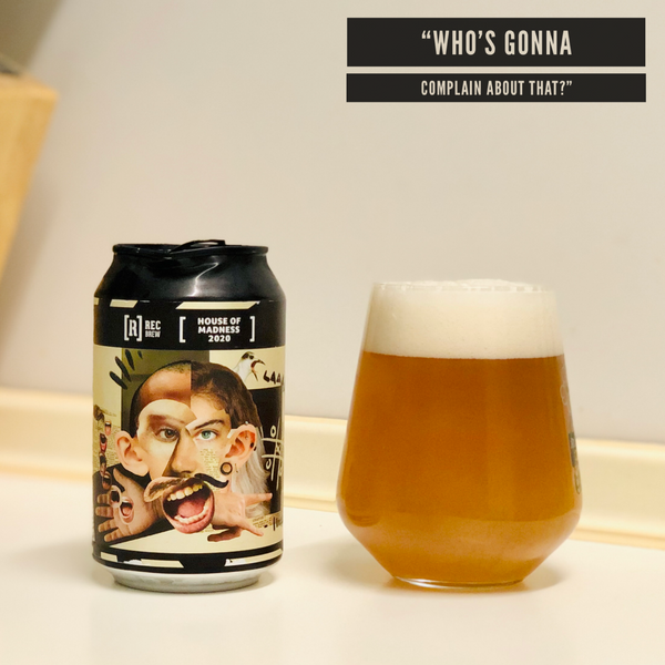 Rec Brew - House Of Madness 2020 Double IPA