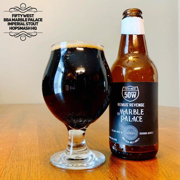 Fifty West - Marble Palace Bourbon Barrel-Aged Imperial Stout