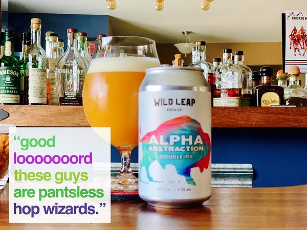 Wild Leap - Alpha Abstraction Vol. 8 Double IPA