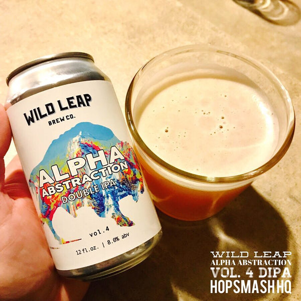 Wild Leap - Alpha Abstraction Vol. 4 Double IPA