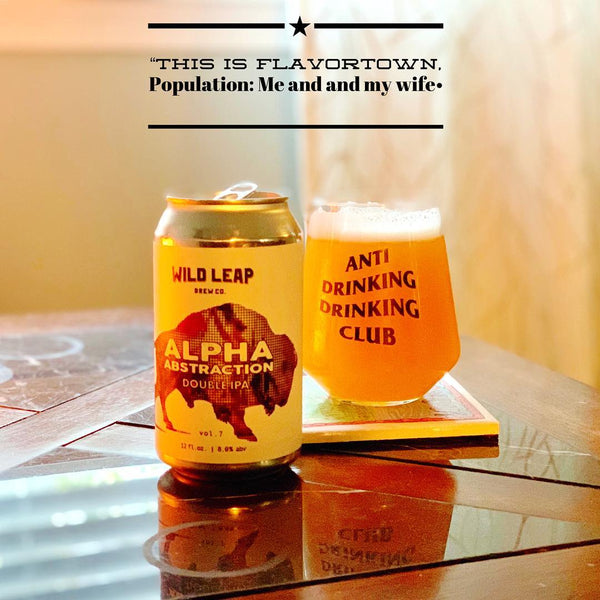 Wild Leap - Alpha Abstraction Vol. 7 Double IPA