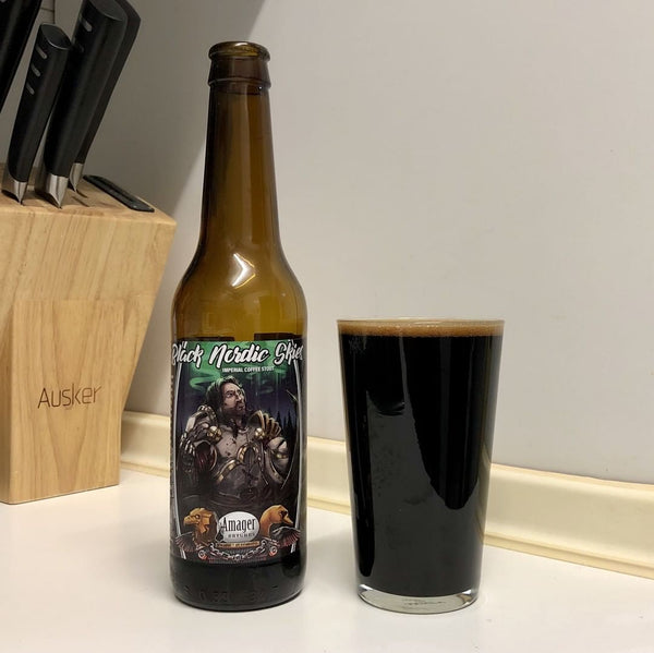 Amager & Modern Times - Black Nordic Skies Imperial Stout