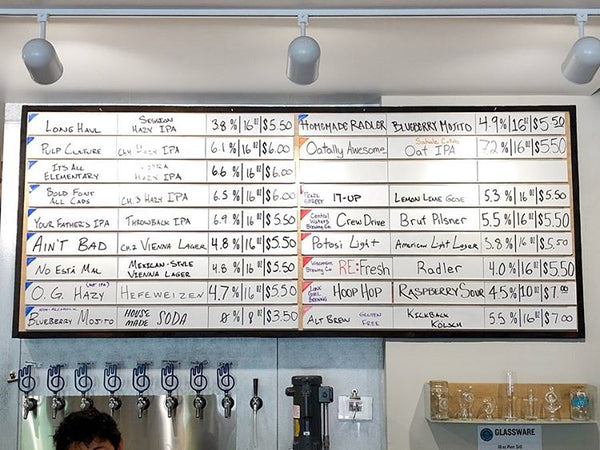 Working Draft Beer Co. - Madison, Wisconsin