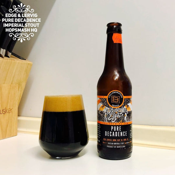 Edge & Lervig - Pure Decadence Russian Imperial Stout