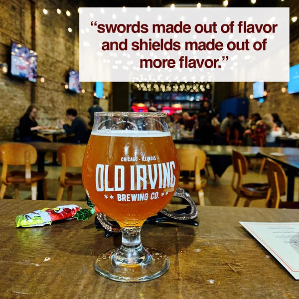 Old Irving - Chicago Prost Crunch White Stout