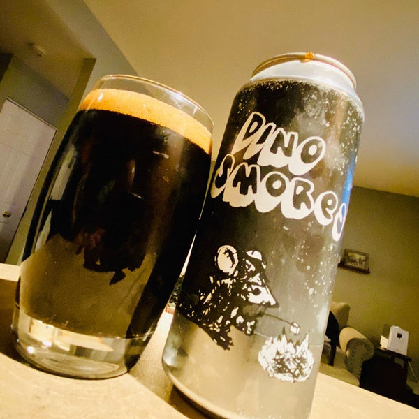 Off Color & Amager - Dino S'mores Imperial Stout