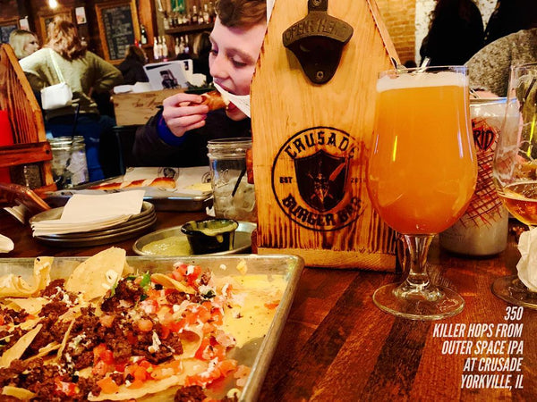 350 - Killer Hops From Outer Space IPA
