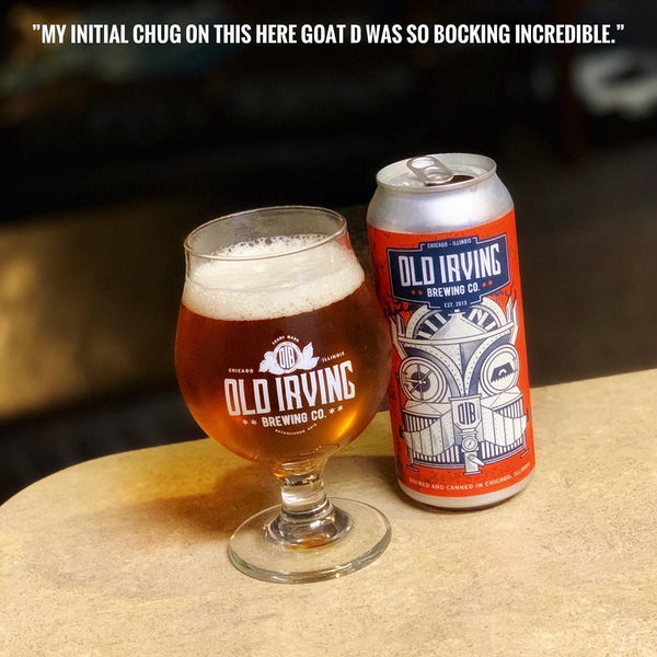 Old Irving - Goat Destroyer Maibock