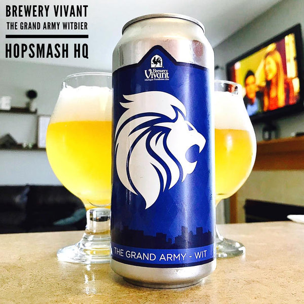 Brewery Vivant - The Grand Army Witbier