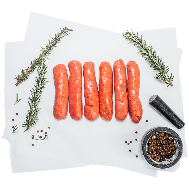 Classic Pure Beef Sausages (G.F.)