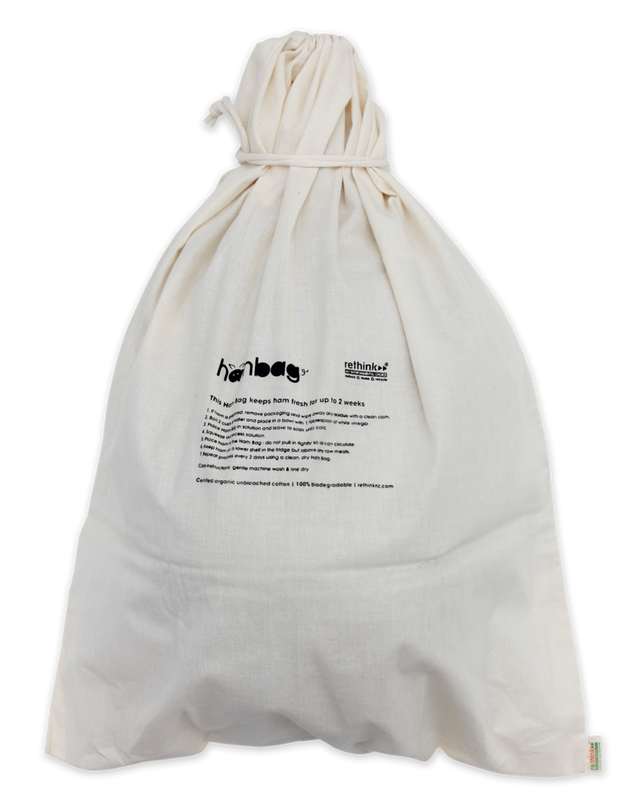 Organic Cotton Ham Bag