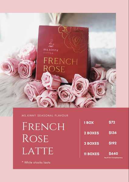 Ms Kinny French Rose Latte