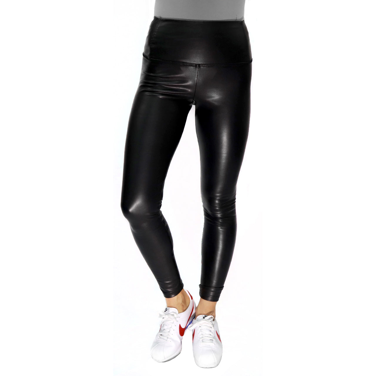 Faux Leather Leggings - PREORDER
