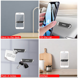 Mini Strip Shape Magnetic Car Phone Holder Metal
