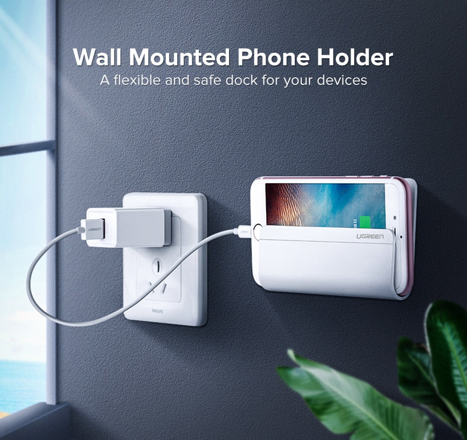Mobile Phone Holder Adhesive Wall Mount