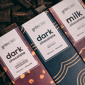 Dark Chocolate Bars, Green Market CBD