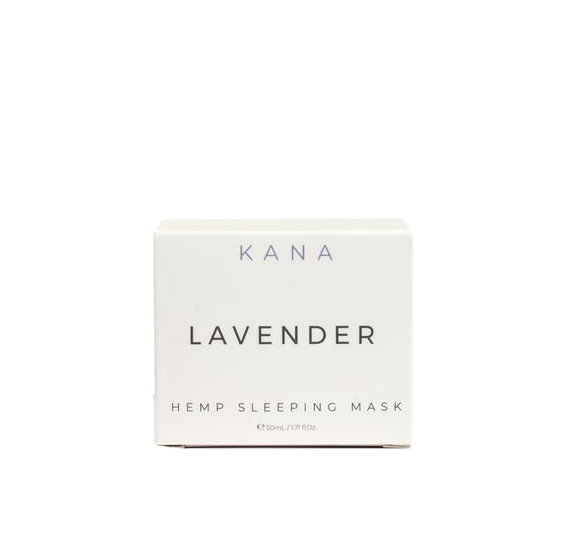 Lavender Hemp Sleeping Mask, Green Market CBD