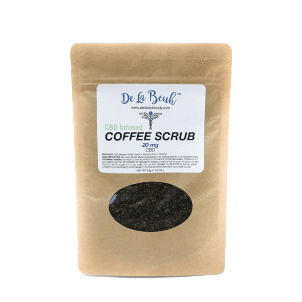 Coffee Body Scrub, Green Market CBD