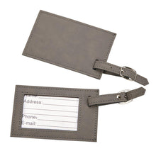 Load image into Gallery viewer, Leatherette Luggage Tags