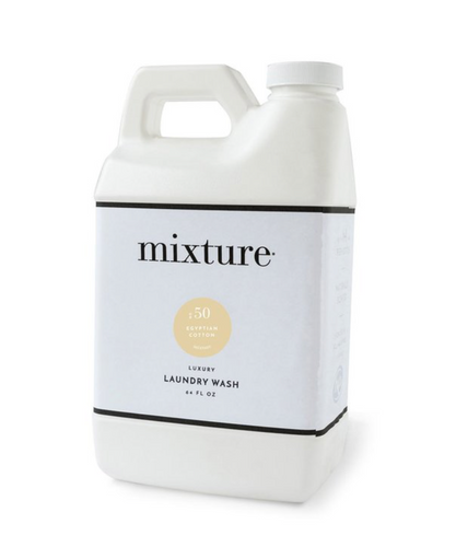 Mixture Luxury Laundry Wash | No. 50 Egyptian Cotton - 64 oz (1/2 Gallon)