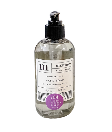 Mixture Luxury Moisturizing Hand Soap | No. 04 Lauren's Lavender Garden