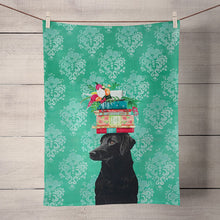 Load image into Gallery viewer, GreenBox Art | A Woman's Best Friend Tea Towel