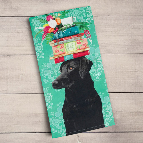 GreenBox Art | A Woman's Best Friend Tea Towel