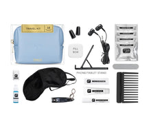 Load image into Gallery viewer, Pinch Provisions | Airplane Embossed Travel Kit - Periwinkle