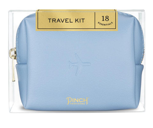 Pinch Provisions | Airplane Embossed Travel Kit - Periwinkle