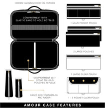 Load image into Gallery viewer, PurseN | Amour Travel Case - Lotus