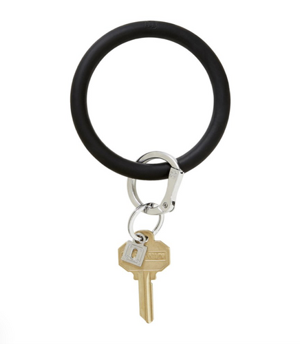 Oventure | Big O Silicone Key Ring - Back in Black