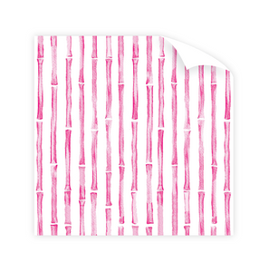 Dixie Design | Bamboo Pink Wrapping Paper Roll