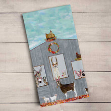 Load image into Gallery viewer, GreenBox Art | Barn Party Tea Towel