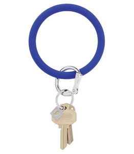 Oventure | Big O Silicone Key Ring - Blue Me Away