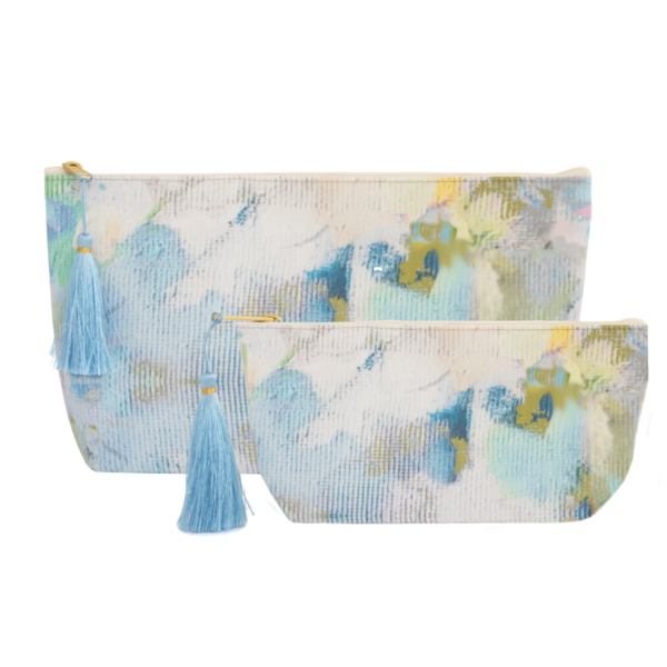 Laura Park Designs | Butterfly Garden Large Cosmetic Bag