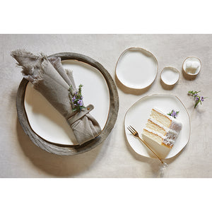 Mini Ceramic Tray | White