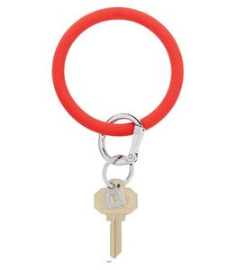 Oventure | Big O Silicone Key Ring - Cherry on Top