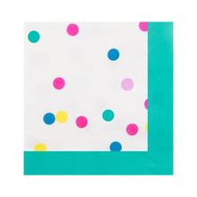Load image into Gallery viewer, Confetti Beverage Napkins