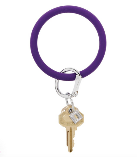 Oventure | Big O Silicone Key Ring - Deep Purple