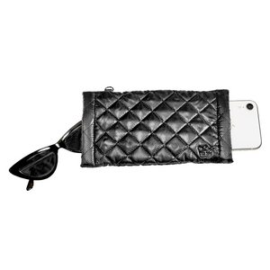 The Oliver Thomas | Double Vision Accessory Case - Black